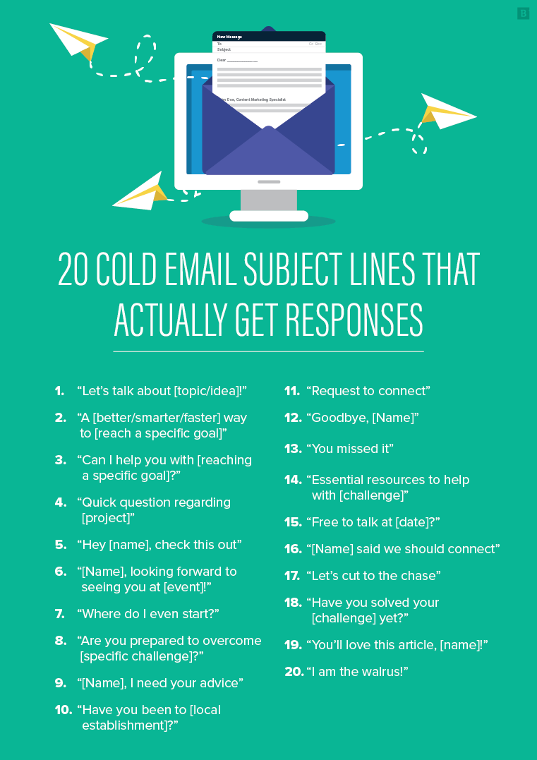 recruiting cold emails